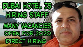 DUBAI HOTEL ANNOUNCED NEW VACANCIES 2020, TRYP BY WYNDHAM HOTEL JOBS IN DUBAI