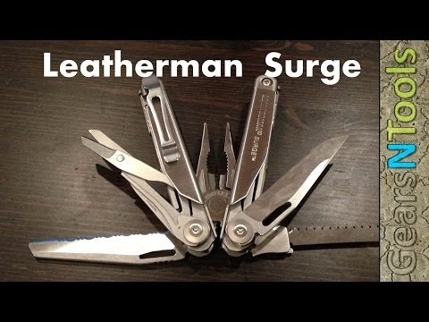 Leatherman Surge Is the Wave On Steroids Multi-Tool Review