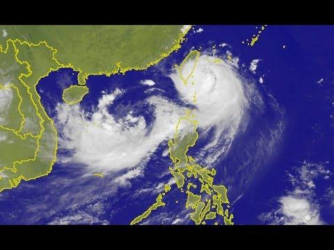 Typhoon Nesat Slams Taiwan & China Braces for Massive Farmland Flooding (422)