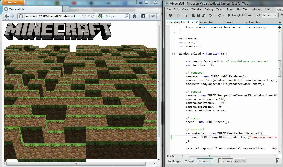 Minecraft Javascript Youtube