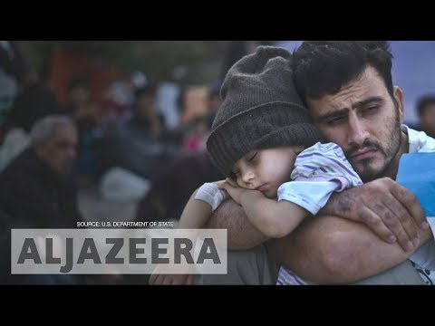 US: Refugee cap at 45,000 in 2018, marking all-time low