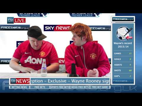 Wayne Rooney signs new contract (Darren Farley and Paul Reid)
