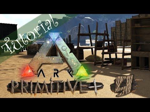 Tutorial ARK: Primitive+ [009] - Lagerung: Von Storage Barrel bis Oil Tank [Deutsch | German]