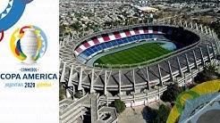 Copa America 2020 Stadiums