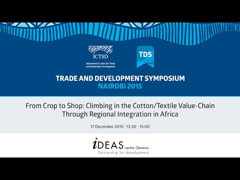 TDS LIVE | From Crop to Shop: Climbing in the Cotton/Textile Value-Chain ...