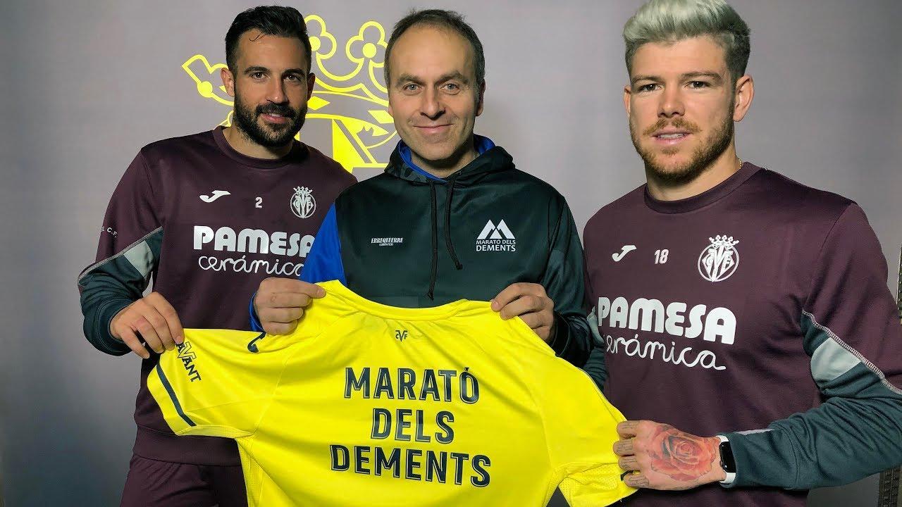 El Villarreal apoya de nuevo la Marató dels Dements