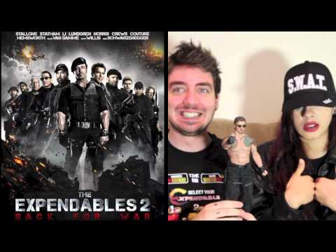 The Expendables 2 NON-SPOILER Movie Review with Sean Long & BatgirlRaquel!