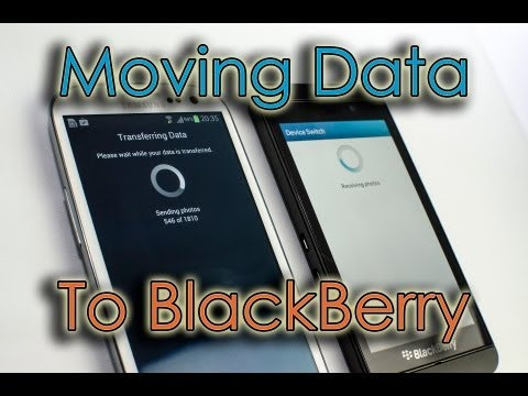 BlackBerry Z10 - Transfer Data From Android (or iOS)