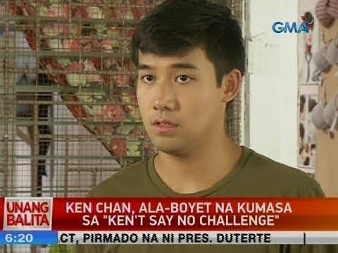 "UB: Ken Chan, ala-Boyet na kumasa sa ""Ken't say no challange"""