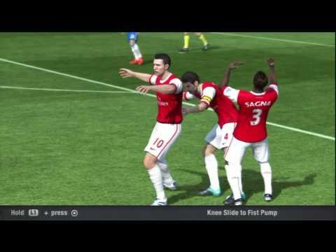FIFA 11 - ''Finishing'' Celebrations Tutorial Part 1