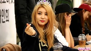 [Fancam] 150310 포미닛 소현 (4MINUTE, Sohyun) @ 김포공항 팬사인회 직캠 By S…