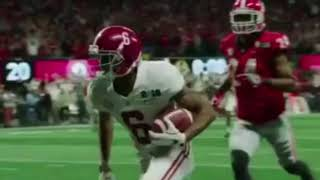 2018 National Championship Final Play In Slow Motion