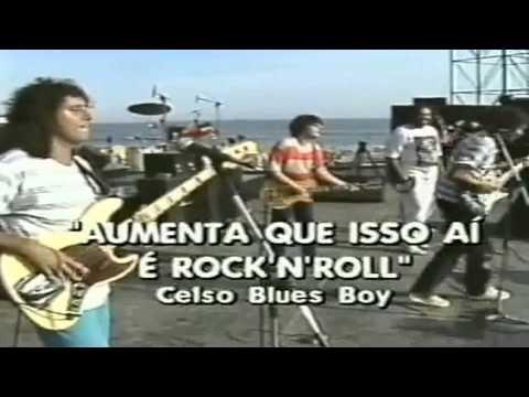 Celso Blues Boy - Mixto-Quente - Praia da Macumba - 1986 - RJ.