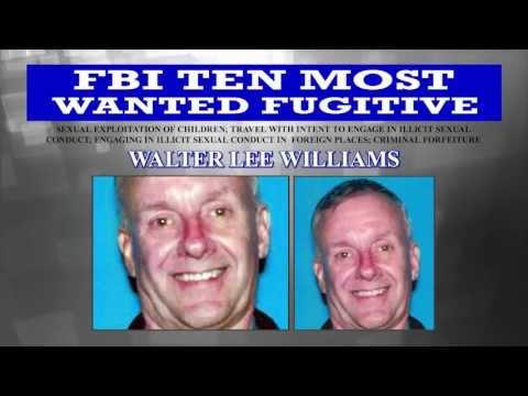 CAPTURED: Walter Lee Williams on FBI Ten Most Wanted Fugitives List