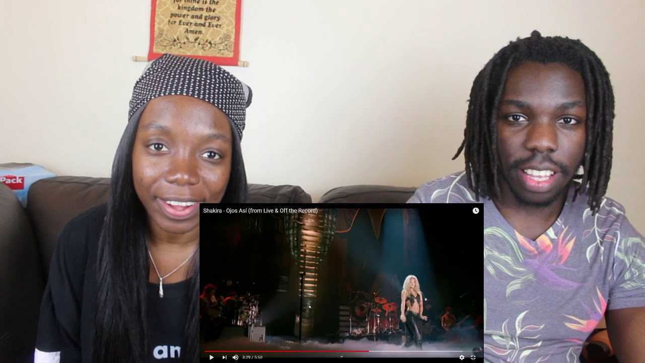 Download Shakira - Ojos Así (from Live & Off the Record) - REACTION VIDEO
