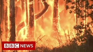 Australia bushfires: 'It's like fireballs exploding in the air' - BBC News