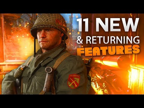 11 NEW & Returning Features That Should Excite You For COD WW2!