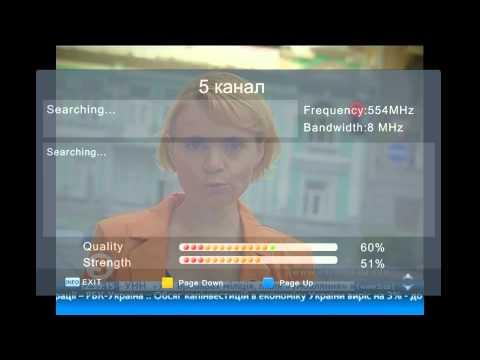Digital terrestrial television in Ukraine DVB-T/T2