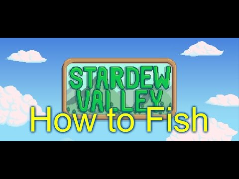 Stardew ValleyTHIS IS HOW I FISH! Quick Fishing Tutorial with CAM