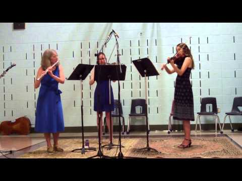 Here's a video from the summer of 2014 with my two daughters - Beethoven's Serenade for Flute, Violin, and Viola.