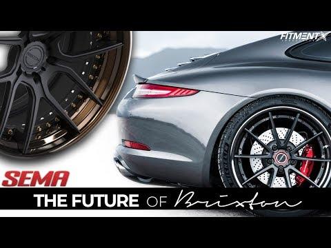 $15k Carbon Fiber Wheels?!   Brixton Forged SEMA Review