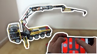 LEGO Mindstorms - Truck Mounted Crane