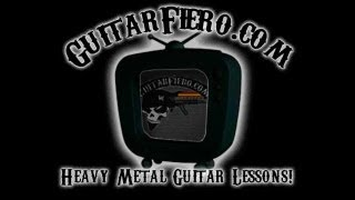 "Como tocar ""Rein Raus"" Guitarra (Rammstein)"