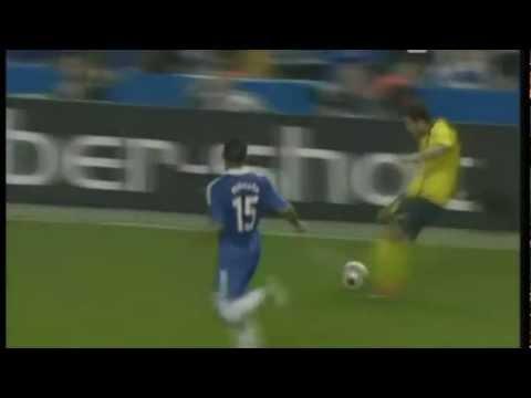 Gol al último Minuto De Andres Iniesta al Chelsea (UEFA Champions League 08/09).