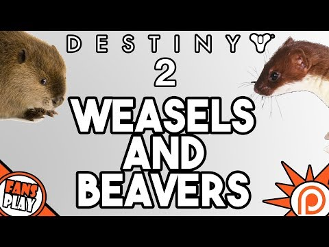 Fighting Weasels and Beavers with a Fan! | Destiny 2 Gameplay
