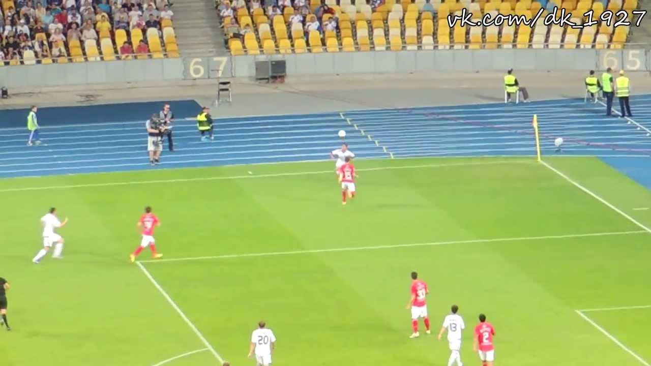 07.07.2013 (Динамо Киев 2-1 Спартак Москва) (Видео с трибуны)
