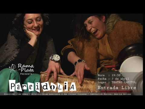 Obra PAREIDOLIA en el Teatro Cápitol
