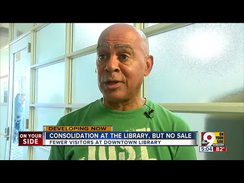Cincinnati Library 'consolidating,' But No Sale