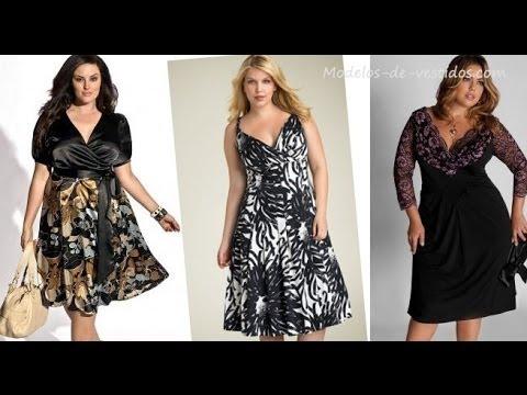 Vestidos de fiesta para mujeres con sobrepeso