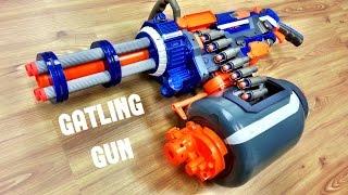 [COMMUNITY] Nerf GATLING GUN | Nerf Vulcan Mod by Darryl C.