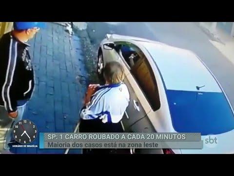 São Paulo registra um roubo de carro a cada 20 minutos | Primeiro Impacto (23/05/18)