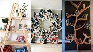 130 Bookshelf Ideas to Organize Your Book — Home library design 3