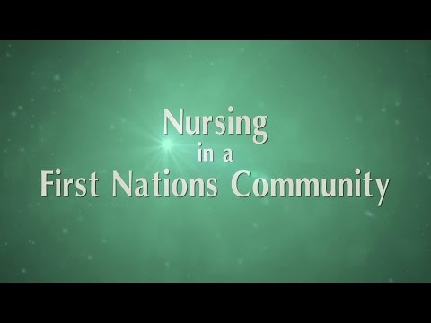 Nursing in a First Nations community