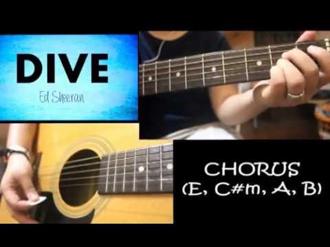 Dive ed sheeran easy guitar chords youtube - Ed sheeran dive chords ...