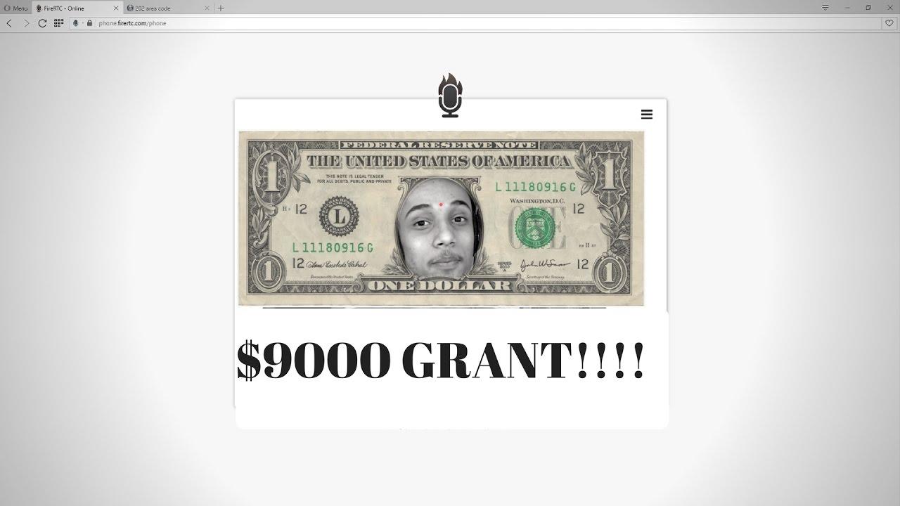 $9000 DOLLAR GRANT SCAM!!!