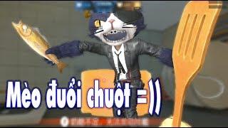 """CHUỘT ĐẤNG vs MÈO CƯỚP BIỂN - Mèo đuổi chuột """" Truy Kích nâng cấp """""""