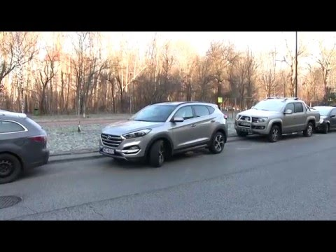 Hyundai Tucson system inteligentnego parkowania SPAS 1001cars