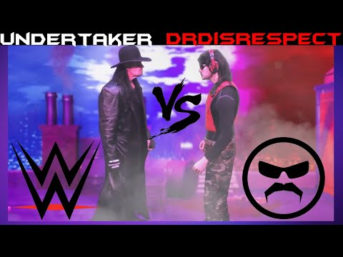 Undertaker (WWE) Vs DrDisrespect (Twitch) 🎵 [SONG] Give 'Em The Love 1440p Dr Disrespect