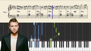 OneRepublic - Wherever I Go - Piano Tutorial + SHEETS
