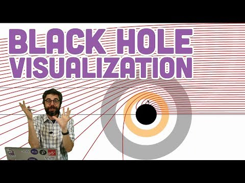 Coding Challenge #144: 2D Black Hole Visualization