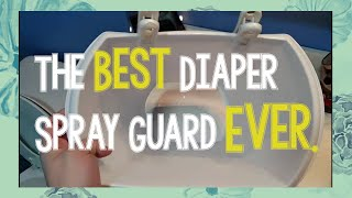 The Best and Cheapest Diaper Spray Guard Ever! | Cloth Diapering