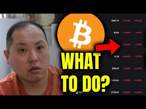 DID YOU BUY BITCOIN & ALTCOINS AT TOP?  WHAT SHOULD YOU DO?