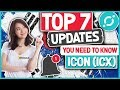 ICON (ICX) - 7 Updates You Need to Know! Rebranding, Exclusive ICO's, ICX Buyback!