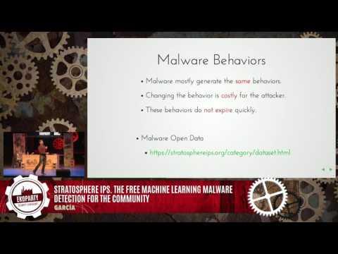 eko 12 - 2016 - Sebastian Garcia - Stratosphere IPS. The free machine learning malware detection