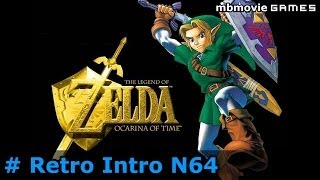 N64 The Legend of Zelda Ocarina of Time Gameplay Retro Intro Direkt @ Nintendo 64