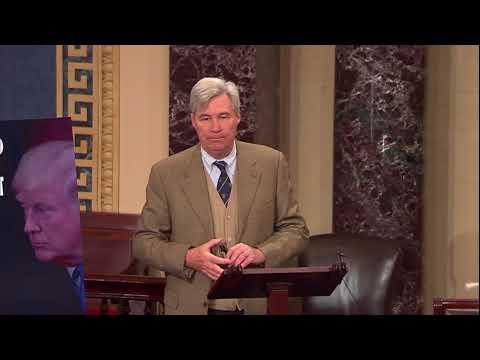 Whitehouse Floor Remarks on the #TrumpShutdown